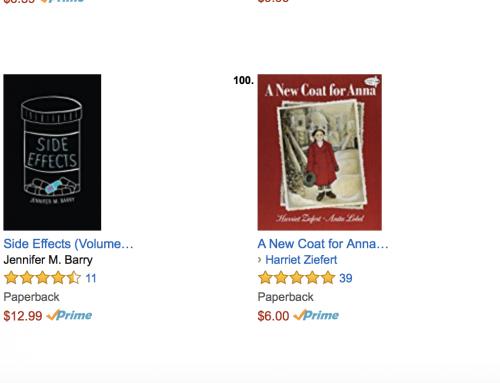 "Jennifer M. Barry's ""SIDE EFFECTS"" Releases in Amazon's Top 100"